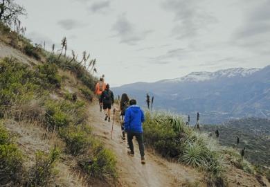Trekking en Santiago - Cerro Manquehue